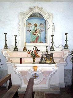 Cappellina Interna Eremo di San Vitalianao