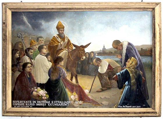 Dipinto di San Vitaliano