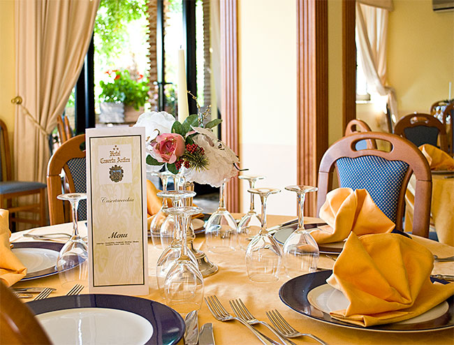 Hotel Caserta Antica - Sala Ristorante