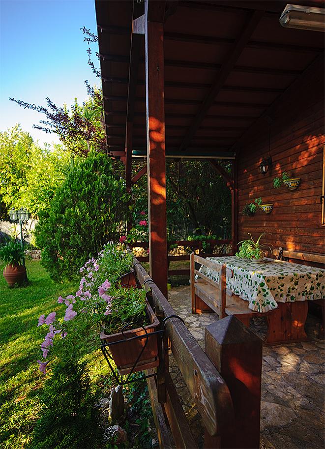 Ristorante Il Conte - Il giardino