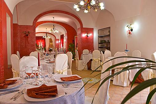 Sala da Pranzo di Villa Giaquinto