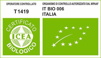 Apicoltura Rossetti certificazione ICEA