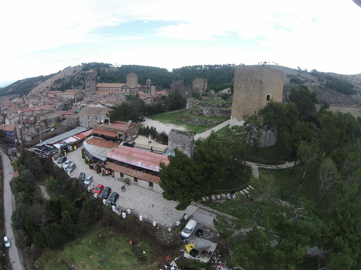 Torre dei Falchi Casertavecchia - Veduta Aerea