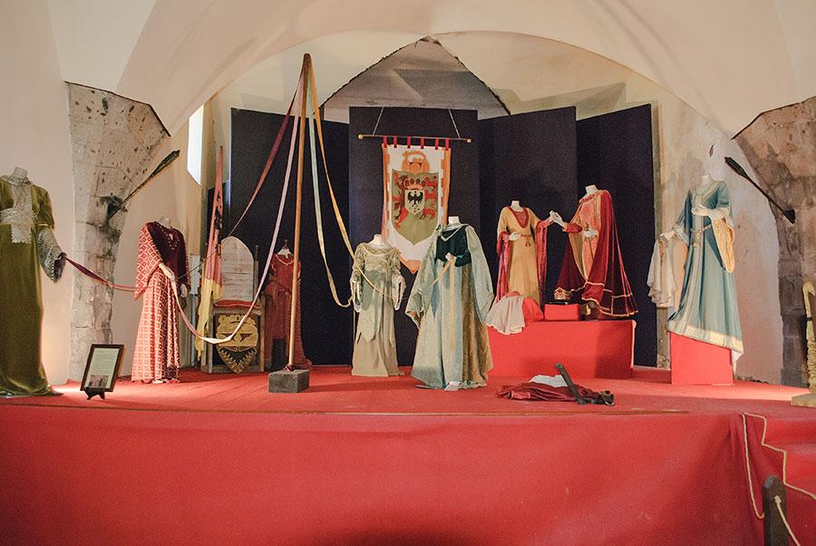 Sala interna Castello di Casertavecchia