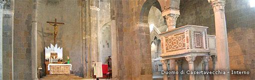 Duomo di Casertavecchia - Altare e Pulpito