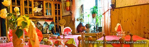 Il ristoro del campanile - Caserta vecchia