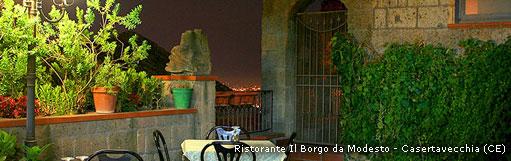 Ristorante BAR Pizzeria Il Borgo da Modesto - Casertavecchia